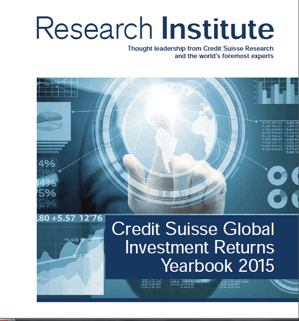 Credit Sussie Global Investment Returns Yearbook-2015