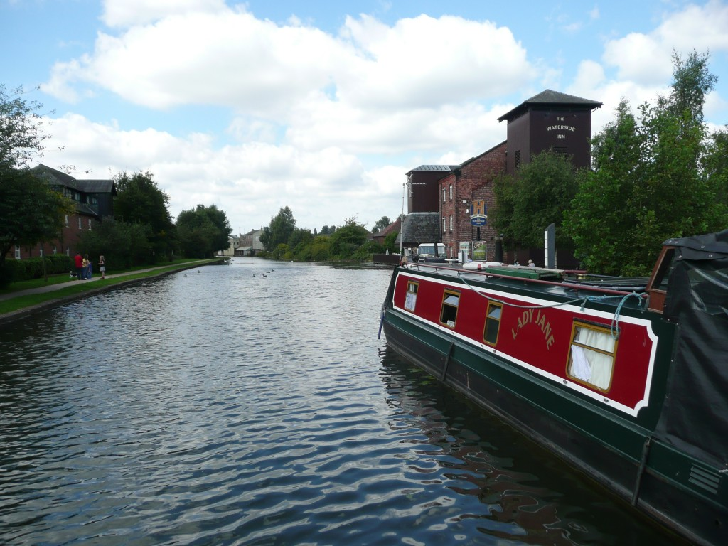 Canal in UK