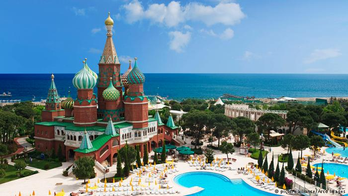 Kremlin Palace Hotel, Antalya, Turkey