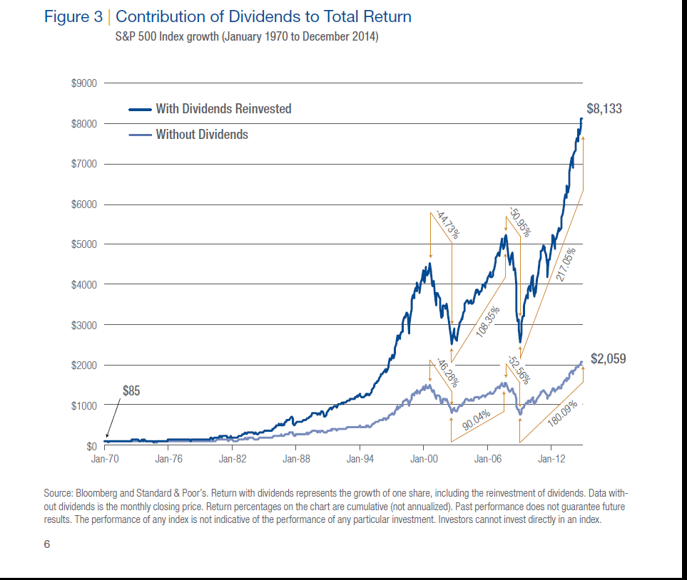 Dividends in Total Return