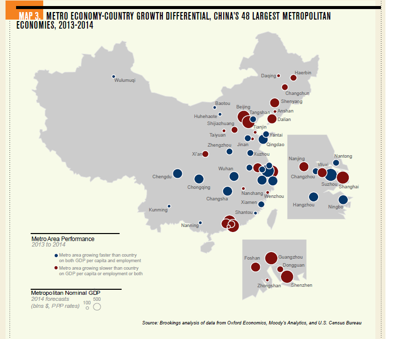 Largest Metropolitan Cities in China