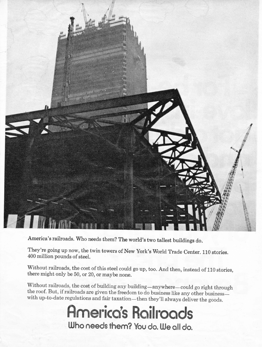 WTC Ad from 1970s