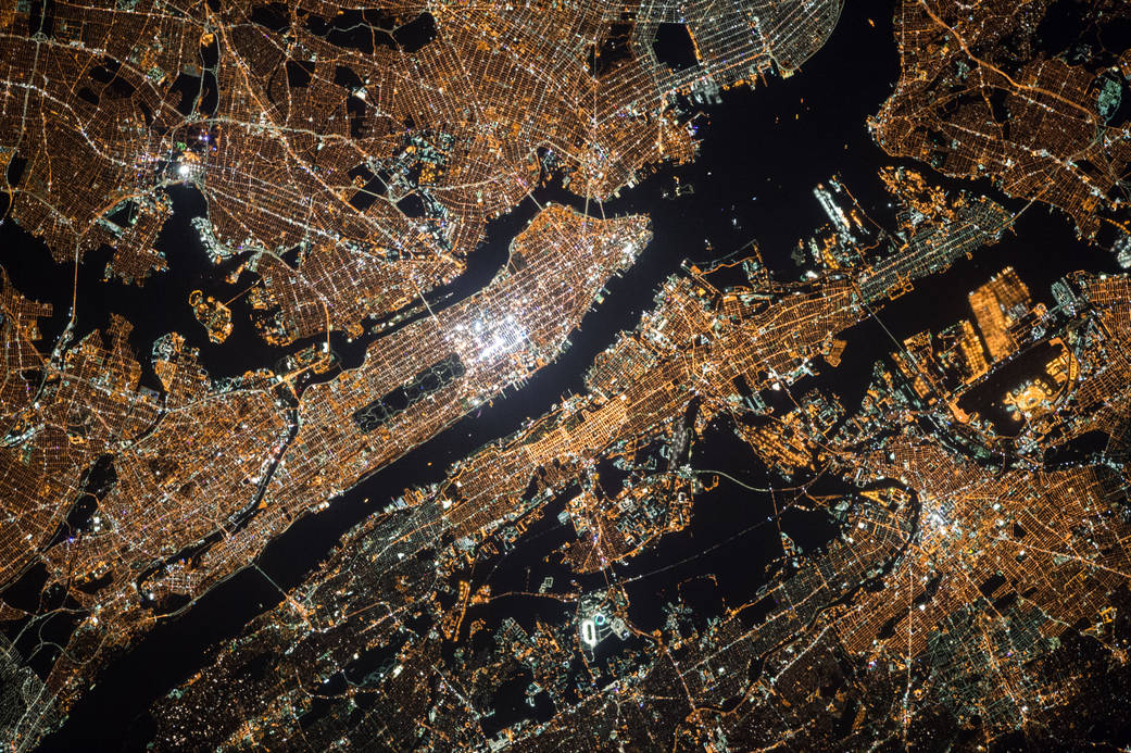 New York City from Space