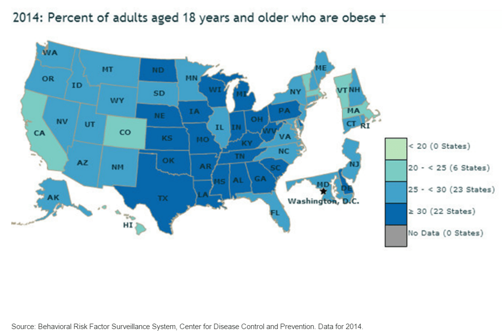 obesity-ratees-by-us-state