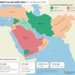 Iran's Allies and Foes in the Middle East: Infographic