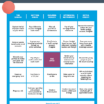 Financial Planning Bingo: Infographic